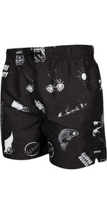 2020 Mystic Mens Coast Boardshorts 200058 - Black / White