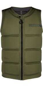 2021 Mystic Mens Star Impact Vest Front Zip 200182 - Brave Green