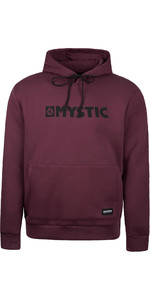 2020 Mystic Mens Brand Hood Sweat 190035 - Oxblood Red