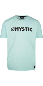 2020 Mystic Mens Brand T-Shirt 190015 - Mint Green
