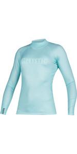 2021 Mystic Womens Star Long Sleeve Rash Vest 200154 - Mist Mint