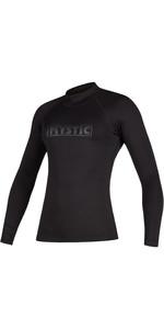 2021 Mystic Womens Star Long Sleeve Rash Vest 200154 - Black