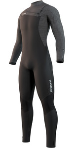 2021 Mystic Mens Majestic 3/2mm Front Zip Wetsuit 210058 - Black