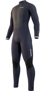 2021 Mystic Mens Majestic 4/3mm Back Zip Wetsuit 210060 - Night Blue