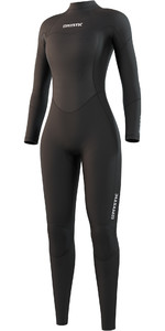 2021 Mystic Womens Star 3/2mm Back Zip Wetsuit 210318 - Black