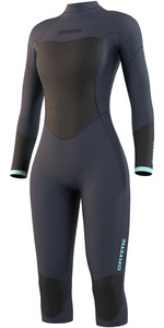 2021 Mystic Womens Brand 3/2mm Short Leg Wetsuit 21032 - Night Blue