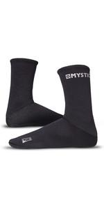 2021 Mystic Semi-Dry Wetsuit Socks 21081 - Black