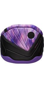 2021 Mystic Womens Diva Waist Harness 200096 - Black / Purple