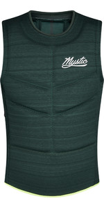 2021 Mystic Mens Majestic Side Zip Impact Vest 200106 - Dark Leaf