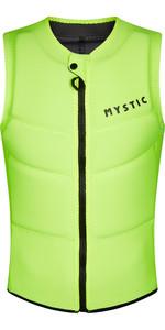 2021 Mystic Mens Star Front Zip Impact Vest 210122 - Flash Yellow