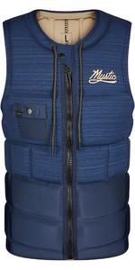 2021 Mystic Mens Outlaw Front Zip Impact Vest 210156 - Night Blue