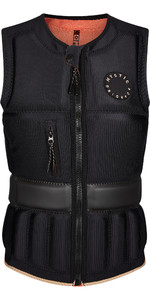 2021 Mystic Womens Gem Front Zip Wake Impact Vest 210159 - Black
