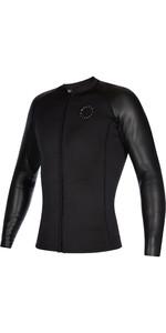 2021 Mystic Mens Long Sleeve 2mm Wetsuit Top 210132 - Black