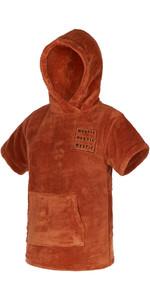 2021 Mystic Kids Teddy Change Robe / Poncho 210136 - Rusty Red