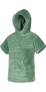 2021 Mystic Kids Teddy Change Robe / Poncho 210136 - Sea Salt Green