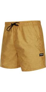 2021 Mystic Mens Brand Swim Boardshort 210185 - Mustard