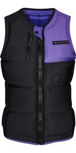 2021 Mystic Womens Dazzled Wake Impact Vest 200187 - Black / Purple