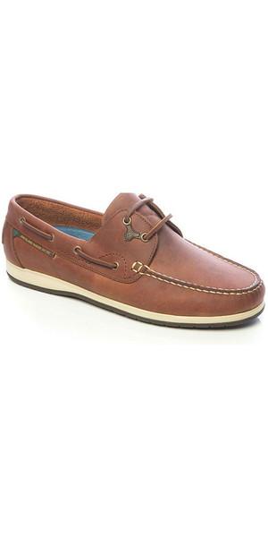 2018 Dubarry Sailmaker x LT Deck Shoes Chestnut 3722