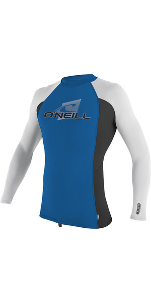 2019 O'Neill Youth Premium Skins Long Sleeve Rash Vest Ocean 4174