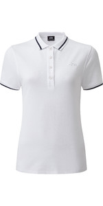 2019 Gill Womens Helford Polo White 4453W