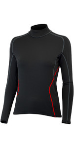 2019 Gill Womens Hydrophobe Long Sleeve Top BLACK 4522W