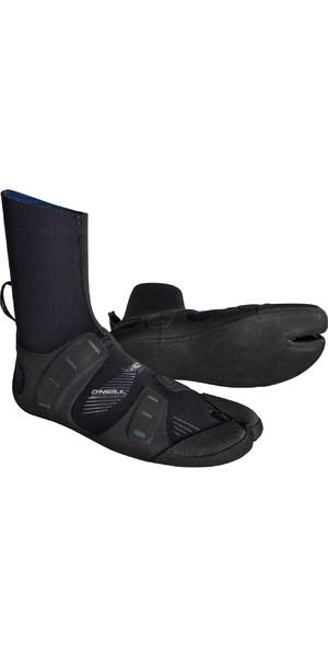 2019 O'Neill Mutant 3mm Split Toe Boots Black / Graphite 4793