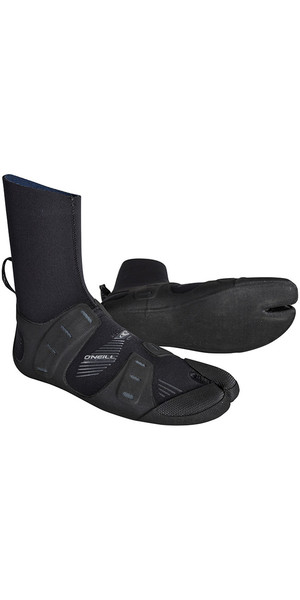 2018 O'Neill Mutant 6/5/4mm Internal Split Toe Boots Black / Graphite 4794