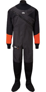 2020 Gill Junior Front Zip Drysuit Black 4804J