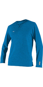 2020 O'Neill Hybrid Long Sleeve Surf Tee Brite Blue 4879