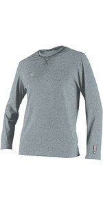 2019 O'Neill Mens Hybrid Long Sleeve Surf Tee Cool Grey 4879