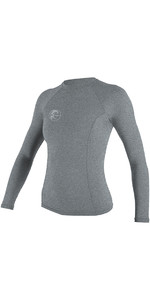 O'Neill Womens Hybrid Long Sleeve Surf Tee Cool Grey 4893