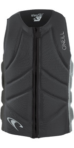 2019 O'Neill Mens Slasher Comp Impact Vest Graphite / Cool Grey 4917EU