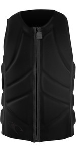 2019 O'Neill Mens Slasher Comp Impact Vest Glide Black / Black 4917EU
