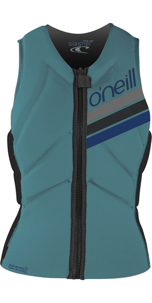 2018 O'Neill Womens Slasher Comp Impact Vest Breeze 4938EU
