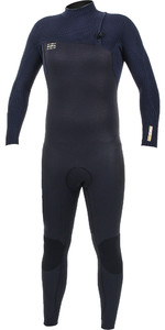 2019 O'Neill Mens HyperFreak Comp 4/3mm Zipperless Wetsuit Abyss / Black 4971