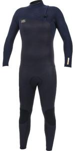 2019 O'Neill Mens HyperFreak Comp 4/3mm Zipperless Wetsuit Abyss / Black 4971