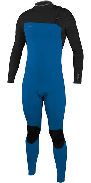 2018 O'Neill HyperFreak Comp 4/3mm Zipperless Wetsuit Ocean / Graphite 4971