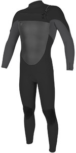 O'Neill O'riginal 5/4mm Chest Zip Wetsuit Midnite Oil / Smoke 4996