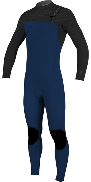 2019 O'Neill Mens Hyperfreak 3/2mm Chest Zip GBS Wetsuit Abyss / Graphite 5000
