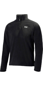 2020 Helly Hansen Mens Daybreaker 1/2 Zip Fleece Black 50844