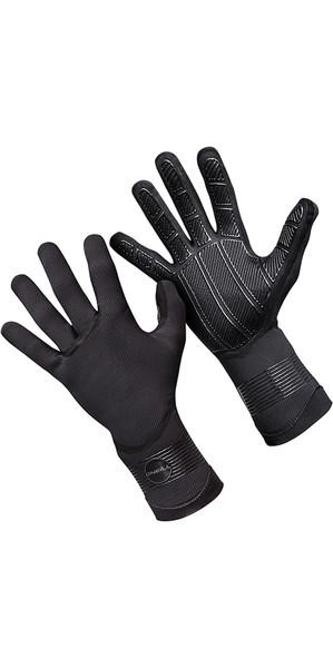 2019 O'Neill Psycho 5mm Double Lined Neoprene Gloves Black 5105