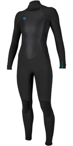 O'Neill Womens O'Riginal 5/4mm Back Zip Wetsuit BLACK 5118