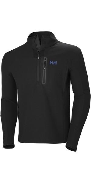 2018 Helly Hansen Vanir 1/2 Zip Fleece Black 51801