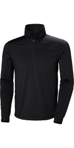 2019 Helly Hansen Phantom 1/2 Zip Fleece 2.0 Black 51803