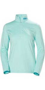 2019 Helly Hansen Womens Phantom 1/2 Zip Fleece 2.0 Blue Tint 51813