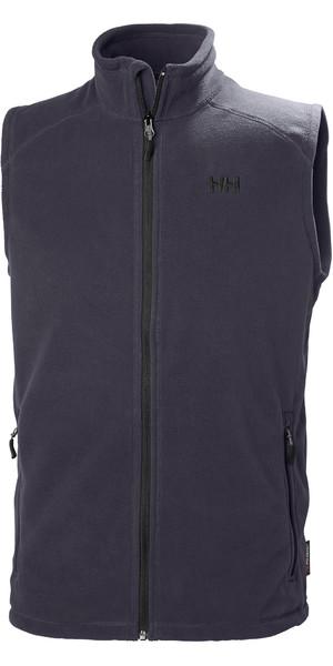 2019 Helly Hansen Mens Daybreaker Fleece Vest Graphite Blue 51831
