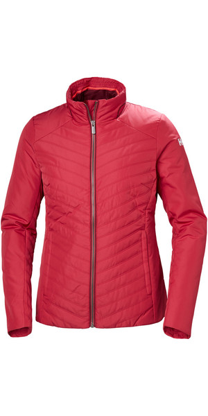 2019 Helly Hansen Womens Crew Insulator Jacket Cardinal 53030