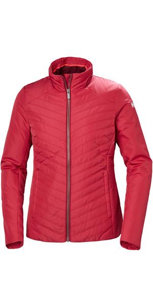 2018 Helly Hansen Womens Crew Insulator Jacket Cardinal 53030