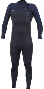 2019 O'Neill Mens HyperFreak+ 4/3mm Chest Zip Wetsuit Black / Abyss 5344