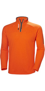 2019 Helly Hansen 1/2 Zip Technical Pullover Fire Orange 54213